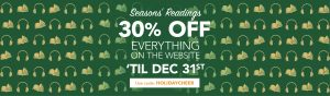 Seasons' Readings - 30% Off