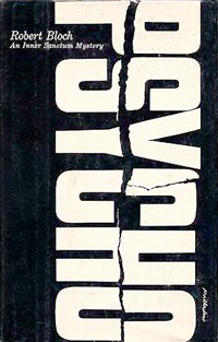 First Edition Psycho book cover