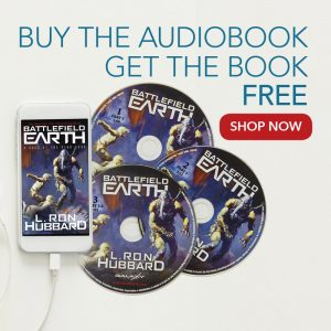 Battlefield Earth Book & Audiobook package