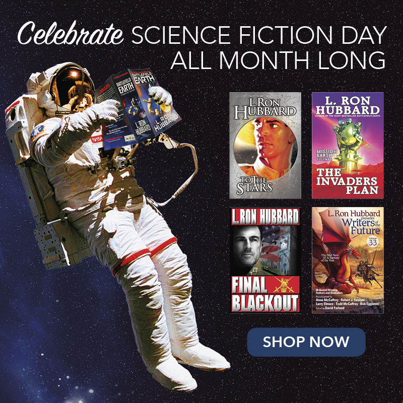 Celebrate Science Fiction Day All Month Long