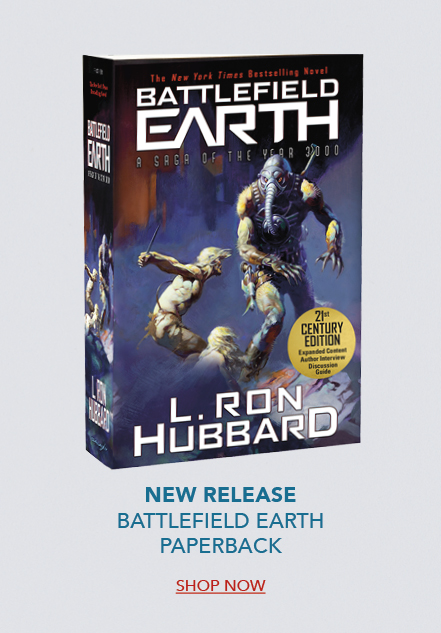 Battlefield Earth paperback