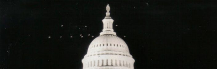 UFOs in Washington DC, 1952