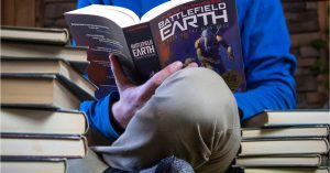 Battlefield Earth gift for teen book