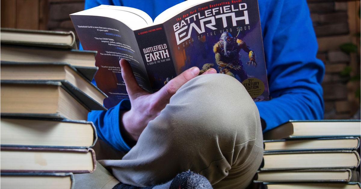 Battlefield Earth best teen read