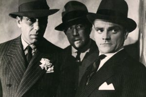 Humphrey Bogart and James Cagney