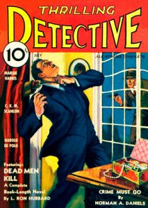 Thrilling Detective magazine