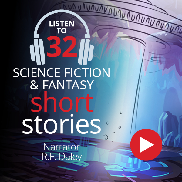 32 Sci-Fi & Fantasy short stories on audiobook