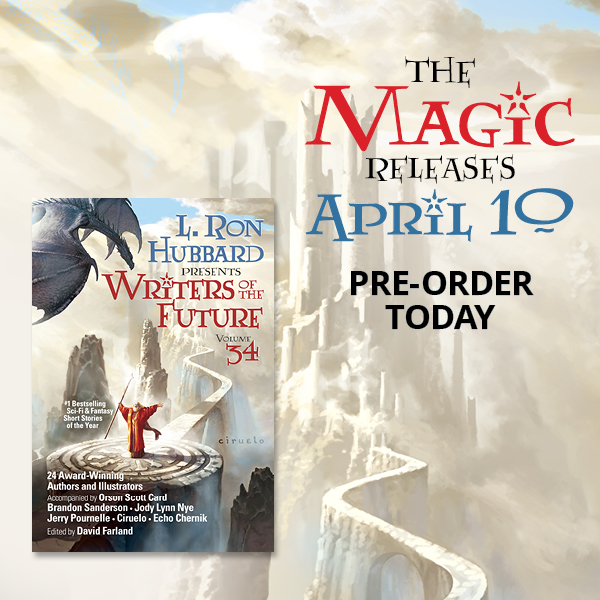 The Magic Releases April 10 - Writers of the Future Volume 34