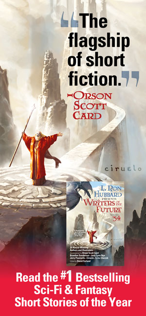 The flagship of short fiction. - Orson Scott Card, Writers of the Future Vol 34