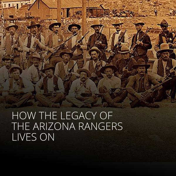 Arizona Rangers, Courtesy of Jeremy Rowe, VintagePhoto.com
