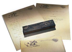L. Ron Hubbard's letterhead
