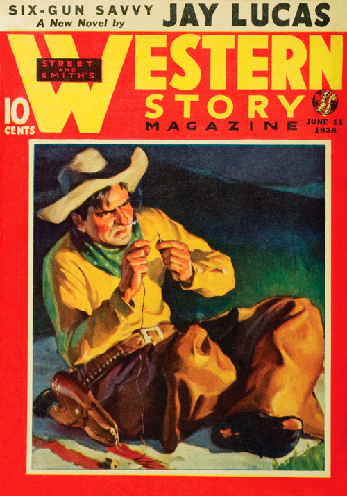 The Toughest Ranger, published in 1938 in Western Story Magazine