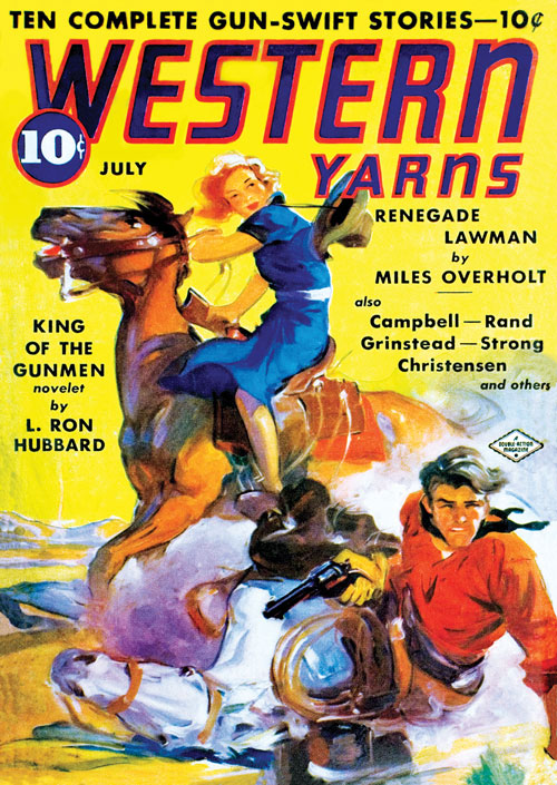 King of the Gunmen, published in 1938 in Western Yarns