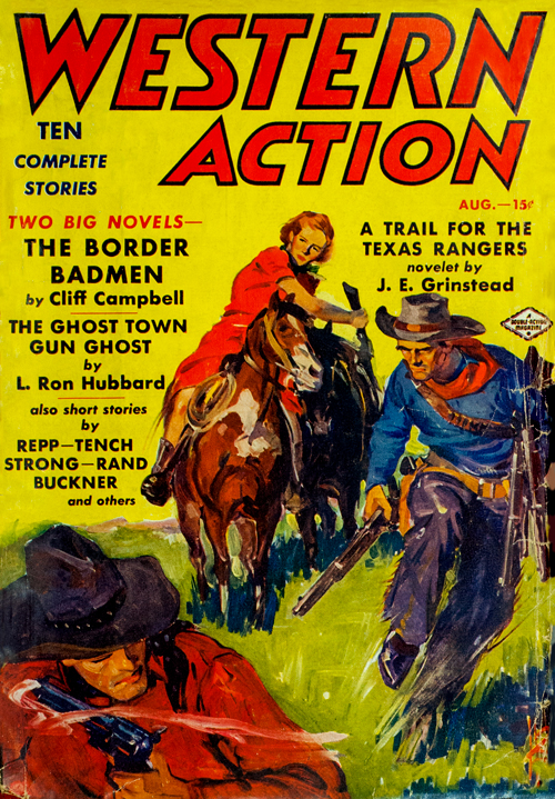 The Ghost Town Gun-Ghost, published 1938 in Western Action