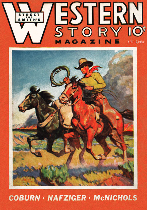 Boss of the Lazy B, published in 1938 in Western Story Magazine