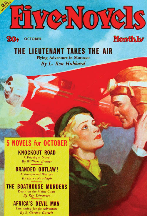 The Lieutenant Takes the Sky, published in 1938 in Five-Novels Monthly