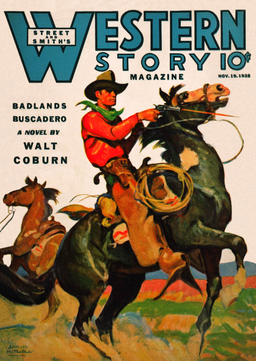 Silent Pards, published in 1938 in Western Story Magazine
