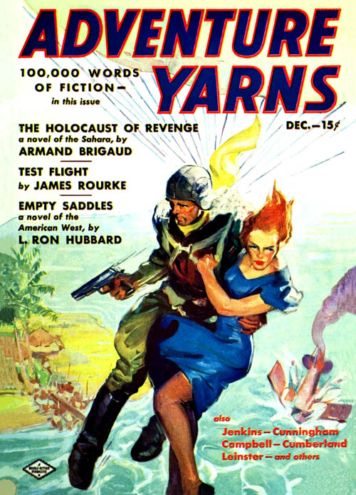 Empty Saddles, published in 1938 in Adventure Yarns