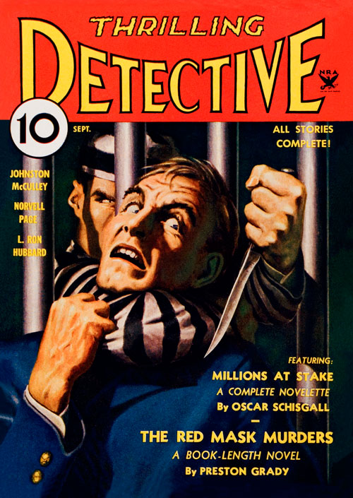 Mouthpiece, published in 1934 in Thrilling Detective