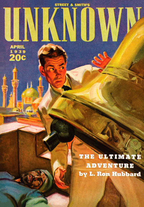 The Ultimate Adventure, published in 1939 in Unknown