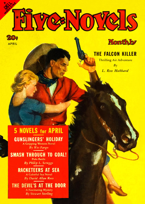 The Falcon Killer, published in 1939 in Five-Novels Monthly