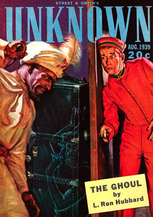 The Ghoul, published in 1939 in Unknown
