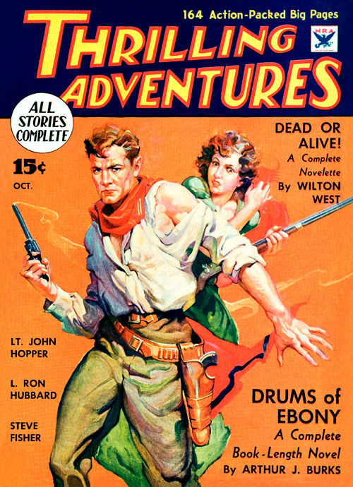 Yellow Loot, published in 1934, in Thrilling Adventures