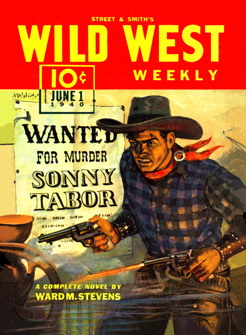 Shadows from Boot Hill, published in 1940 in Wild West Weekly