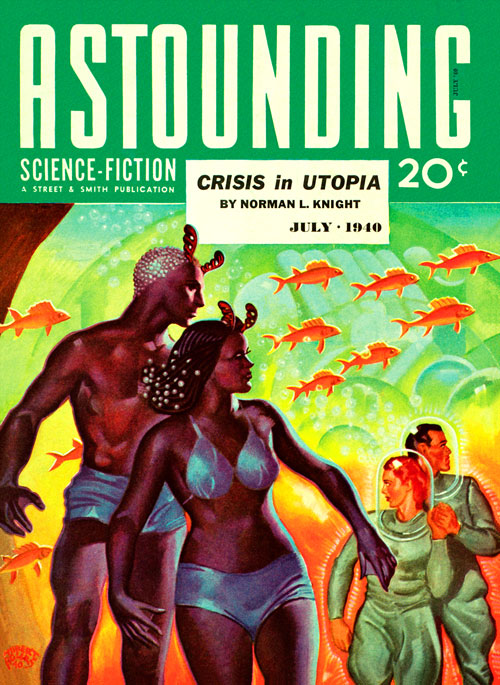 The Idealist, published in 1940 in Astounding Science-Fiction