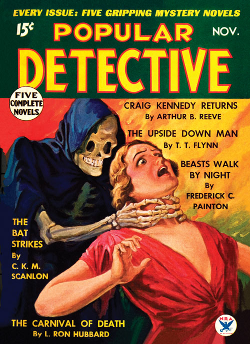 Carnival of Death, published in 1934 in Popular Detective