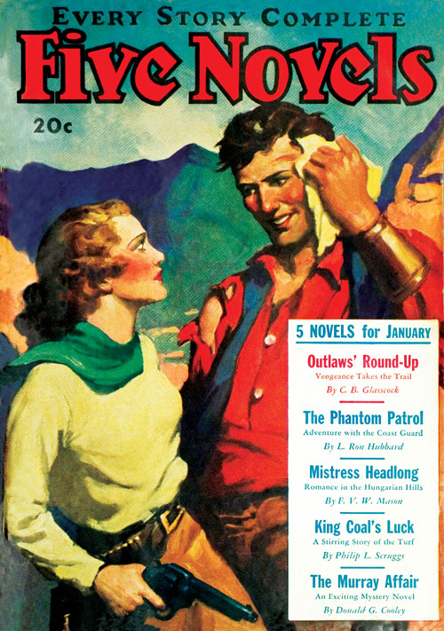 The Phantom Patrol, published in 1935 in Five Novels