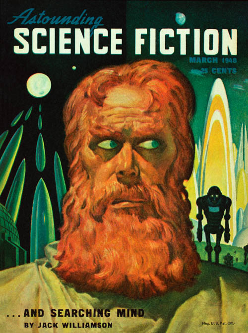 Her Majesty's Aberration, published in 1948 in Astounding Science Fiction