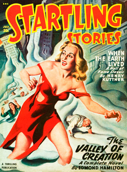 When Shadows Fall, published in 1948 in Startling Stories