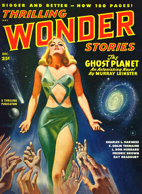 240,000 Miles Straight Up, published in 1948 in Thrilling Wonder Stories