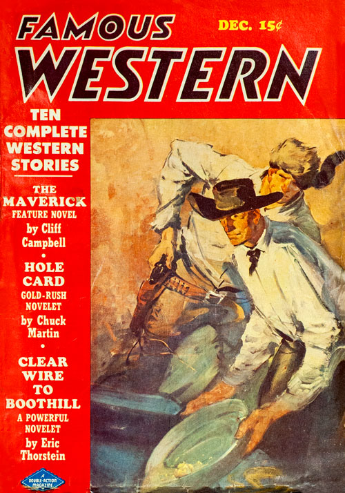Stacked Bullets, published in 1948 in Famous Western
