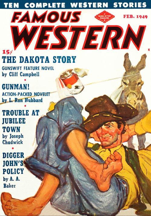 Gunman!, published in 1949 in Famous Western