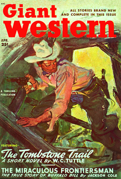 The Gunner from Gehenna, published in 1949 in Giant Western