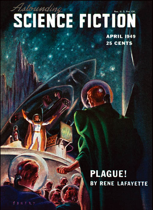 Plague!, published in 1949 in Astounding Science Fiction