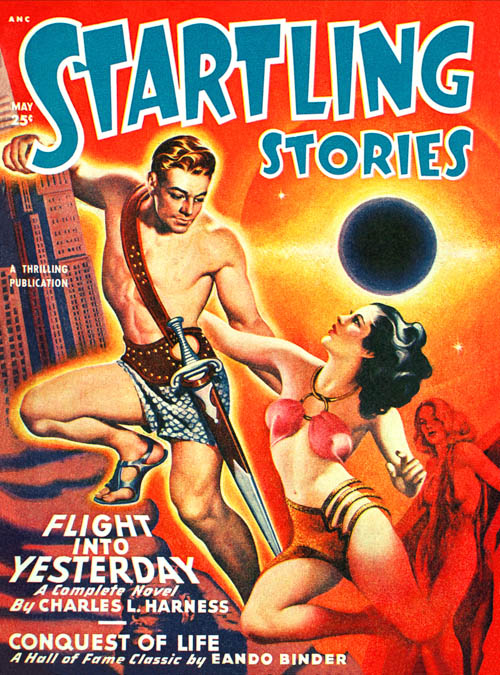 The Incredible Destination, published in 1949 in Startling Stories