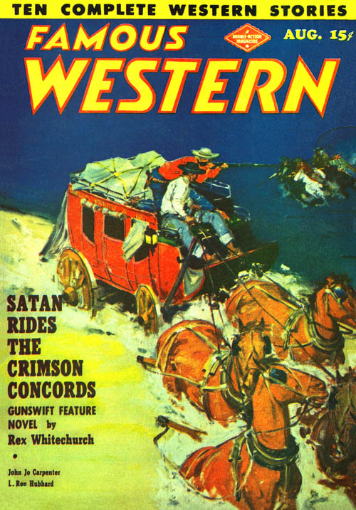 Johnny, the Town Tamer, published in 1949 in Famous Westner