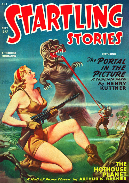 Beyond the Black Nebula, published in 1949 in Startling Stories