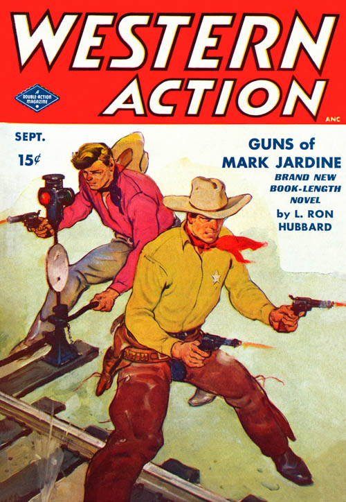 Guns of Mark Jardine, published in 1949 in Western Action