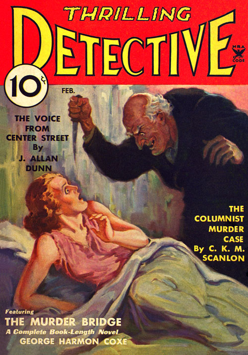 Flame City, published in 1935 in Thrilling Detective