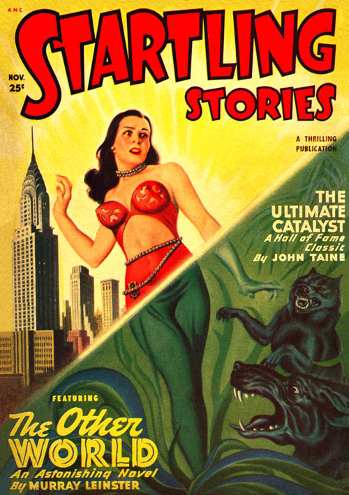 The Emperor of the Universe, published in 1949 in Startling Stories