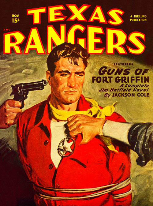 Man for Breakfast, published in 1949 in Texas Rangers