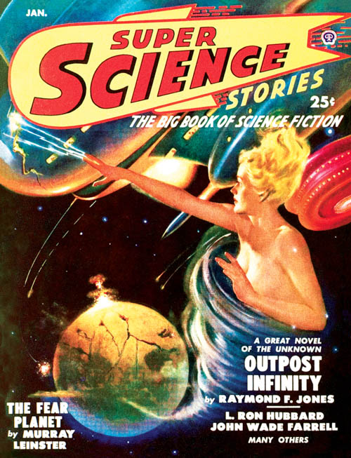 Beyond All Weapons, published in 1950 in Super Science Stories