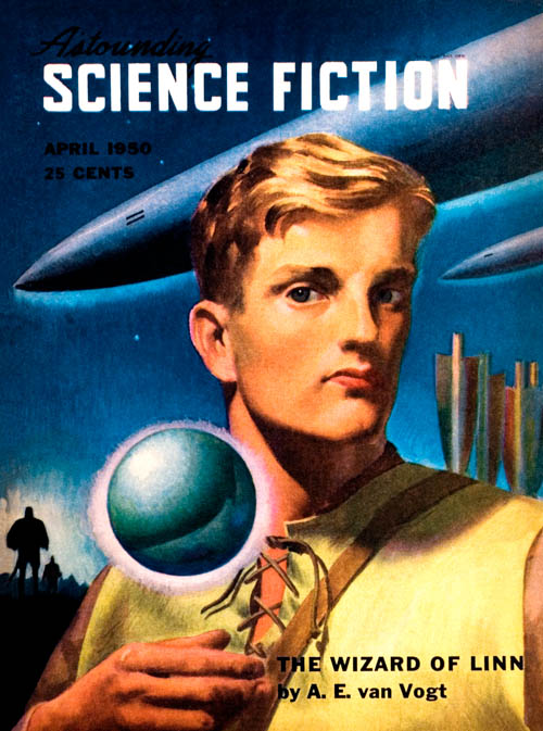 Greed, published in 1950 in Astounding Science Fiction
