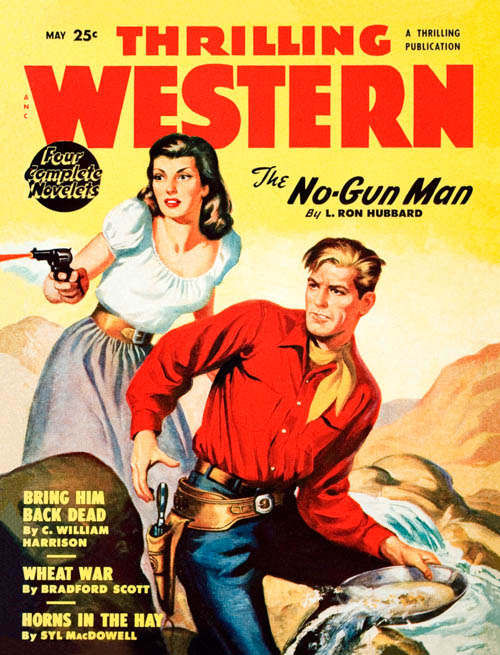 The No-Gun Man, published in 1950 in Thrilling Western