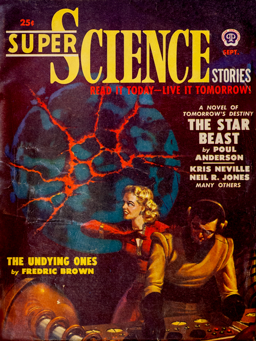 Final Enemy, published in 1950 in Super Science Stories
