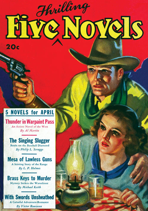Brass Keys to Murder, published in 1935 in Five Novels